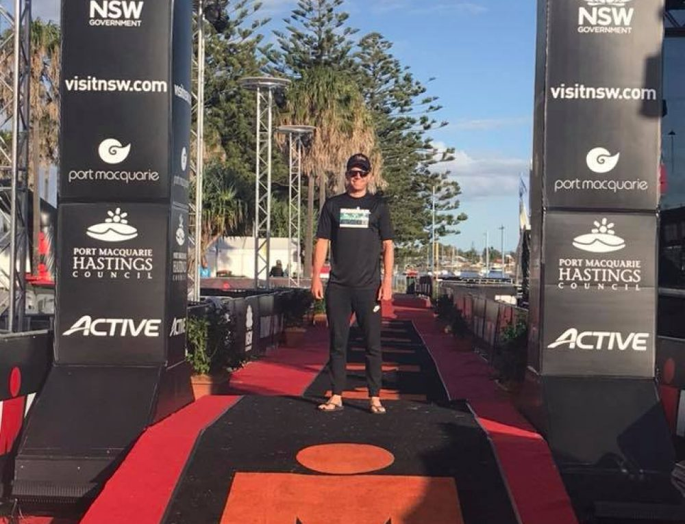 Matt Bull Ironman Australia Race report