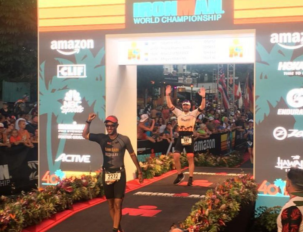 Stephen Hill Hawaiian Ironman Race Report