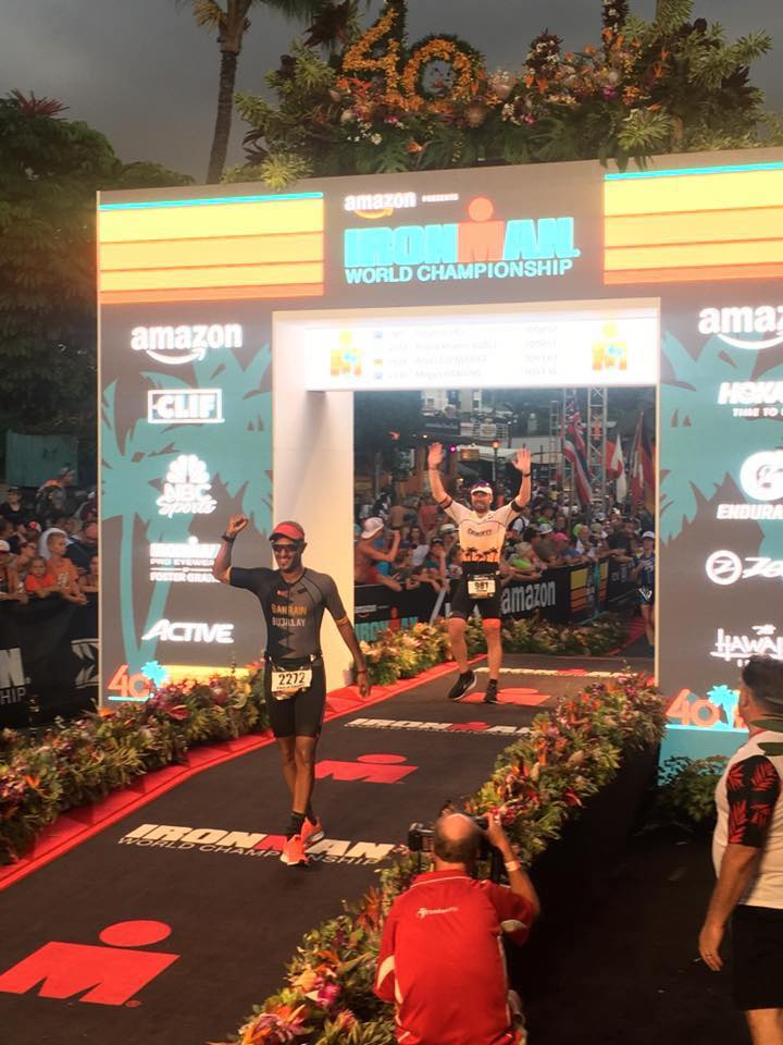 Stephen Hill Hawaiian Ironman Race Report